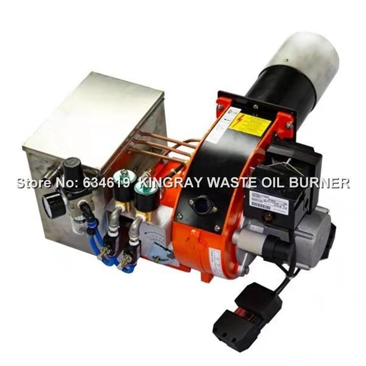 두 단계 220kw 폐기물 오일 버너 사용 디젤 버너 등유/무거운 오일 여러 연료 레코딩 기계-에서BBQ 소녀부터 홈 & 가든 의  그룹 1