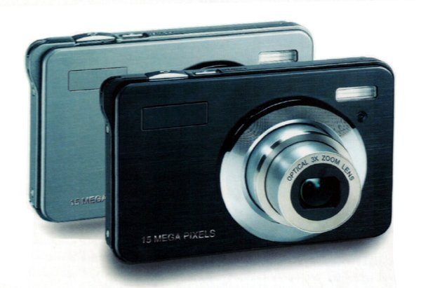 "Free shipping digital camera with 15mp and 3X Optical Zoom and 2.7"" in stock"