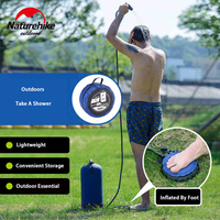 Naturehike 11L Outdoor Portable Shower Bag PVC Camping Shower Water Bag Folding For Hiking Camping BBQ