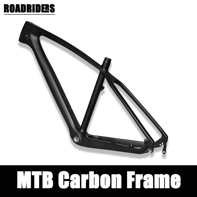 2019 NEW UD Pure Color Carbon Frame Chinese MTB Carbon Frame 26/27.5/29er 15.5/17/19/21 Inch Carbon Mountain Bike Frame Carbon