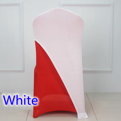 Stupendous Us 60 0 White Colour Lycra Chair Covers Caps Universal For Wedding Decoration Spandex Party Chair Cover Fit All Chairs Wholesale In Sashes From Home Theyellowbook Wood Chair Design Ideas Theyellowbookinfo