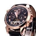 JARAGAR moda Hombres del Reloj de Pulsera de Regalo Relojes Mecánicos para Los Hombres Envío Gratis Automática W154701-4