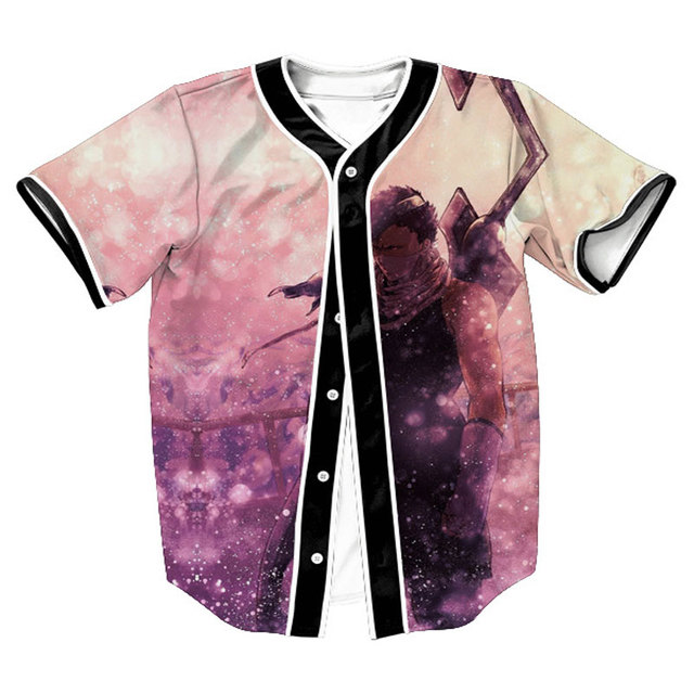 8171481f 3D Baseball Shirt Jerseys Men 2017 Space Galaxy Print Basebal Jersey Casual  Harajuku Mens T Shirts Homme Hip Hop Tops T Shirt