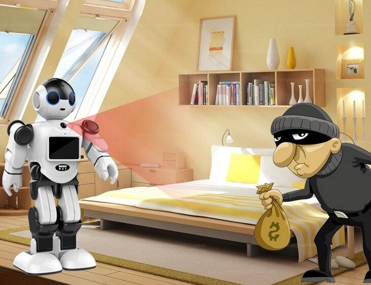 Новый креативный инновационный робот игрушка Поддержка Дома Монитор бесплатное приложение для общения - 5