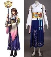 Final Fantasy X Yuna cosplay Halloween Costumes