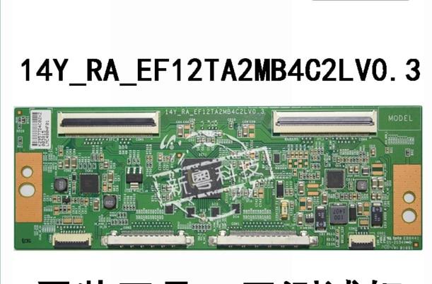 14Y_RA_EF12TA2MB4C2LV0.3 logic board voor/verbinding met T CON verbinden boord-in Elek. Schakeling van Consumentenelektronica op  Groep 1