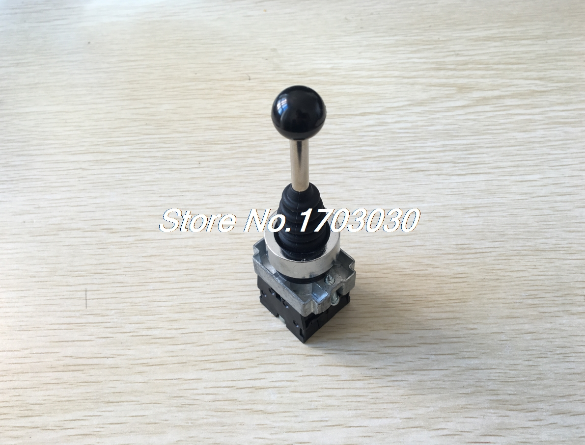 Spring Return Momentary Joy Stick Joystick Switch 2 Position 2NO XD2PA22CR xd2 pa24 joystick controller spring return joystick switch xd2 pa24cr rotary switches auto reset