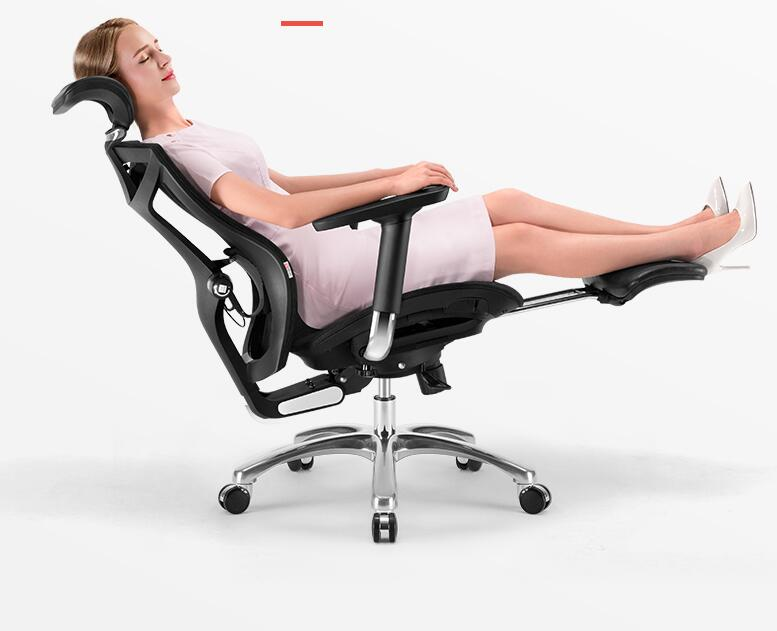 Ergonomics computer chair for home waist engineering e-sports office