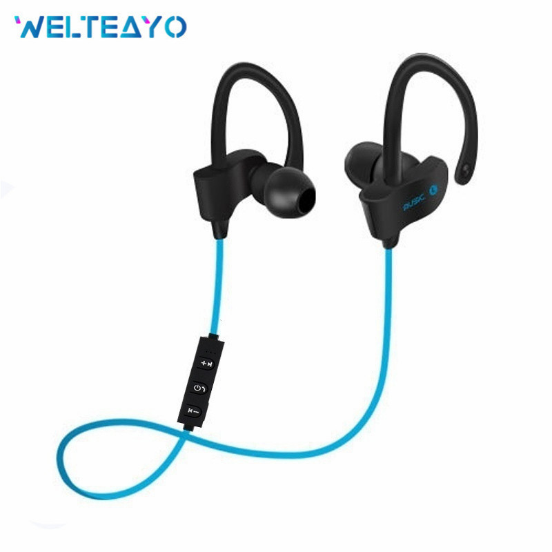 Bluetooth Earphone Wireless Headphone Sport Stereo with Microphone Earbuds for iPhone xiaomi Samsung iOS Android Phone Headset