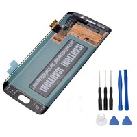 100 Super AMOLED LCD For Samsung GALAXY S6 Edge G925 G925F G925 Display Touch Screen Digitizer