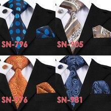 Light grey  Tie Hanky & Cufflinks Set