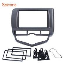 Seicane 2 Din панель автомобиля радио dvd-плеер адаптер рамка фасции Для Honda Jazz City Auto AC LHD тире крепление отделка комплект