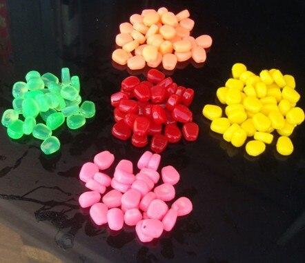 50 Unids/lote maíz Cebos Suaves Señuelos de Pesca de la carpa cebos Flotantes Co