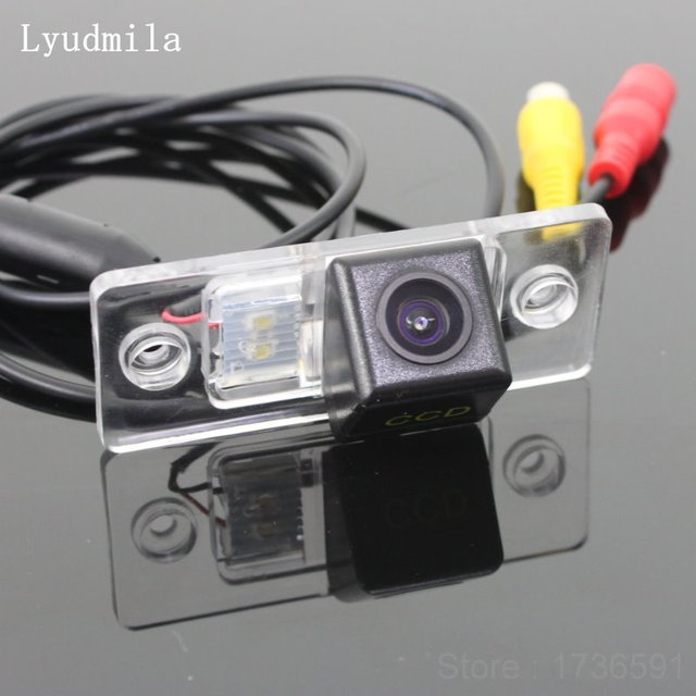 Lyudmila FOR Volkswagen VW Touareg 2002~2010 / Car Rear View Camera Parking Camerra / HD CCD Night Vision Back up Reverse Camera