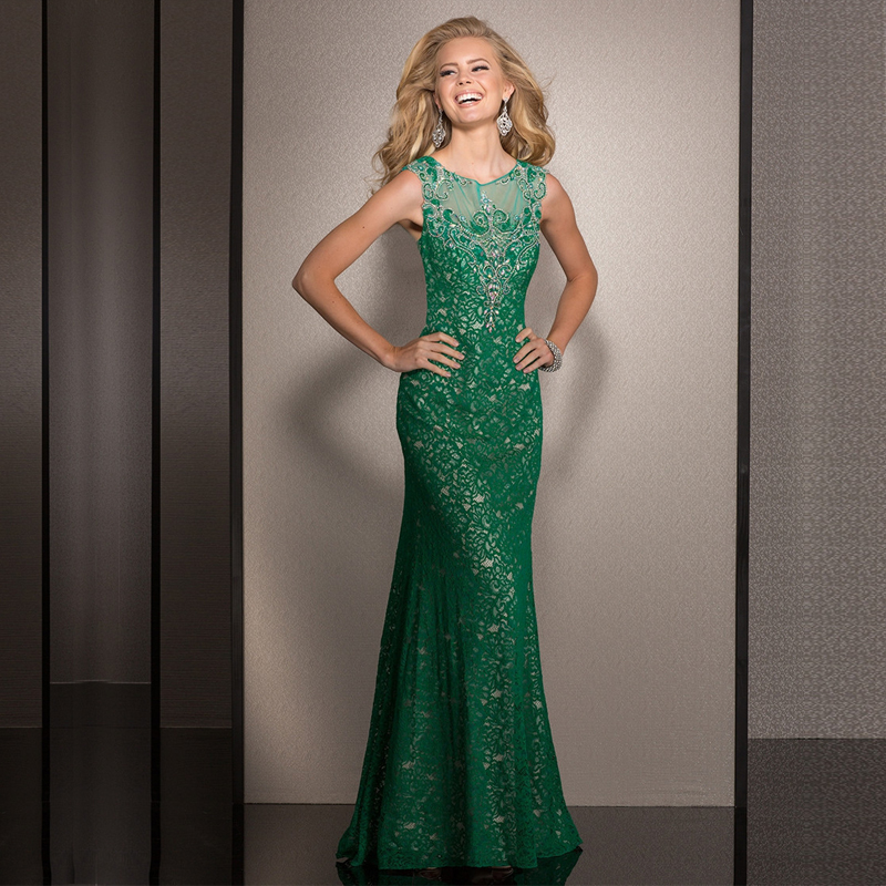 Green prom dresses for sale