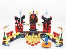 BELA 9731 320pcs toy ninja toys minifigures Skeleton Bowling building blocks sets Educational Bricks toys for children