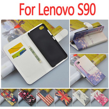 Роскошный Кожаный чехол для Lenovo S90/S 90 откидная крышка дело корпус с карты слот LenovoS90 мобильный телефон охватывает случаи оптовая