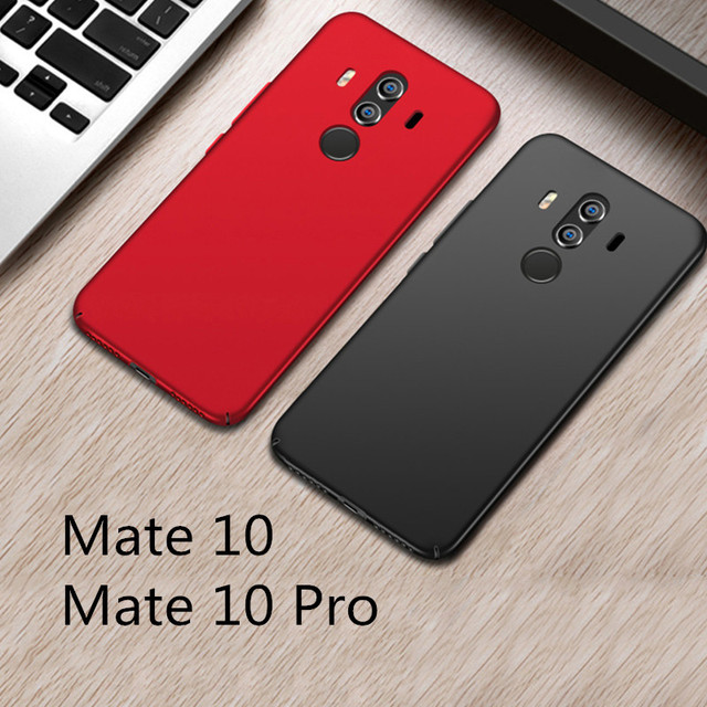 the best attitude d0384 c2253 US $4.95 45% OFF|For Huawei mate 10 pro case for huawei mate 10 case cover  MOFi hard cover mate10 pro PC back cover solid pure mate10 case-in Fitted  ...