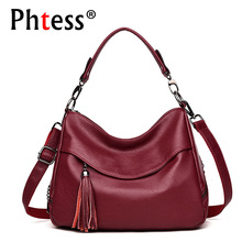 2019 Women Soft Leather Handbags High Quality Sac A Main Ladies Hand Ba