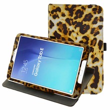 Rotating PU Leather Tablet Case For 9.6″ Samsung Galaxy Tab E / E Nook T560 T561 T567 Verizon 4G LTE folding Stand Cover