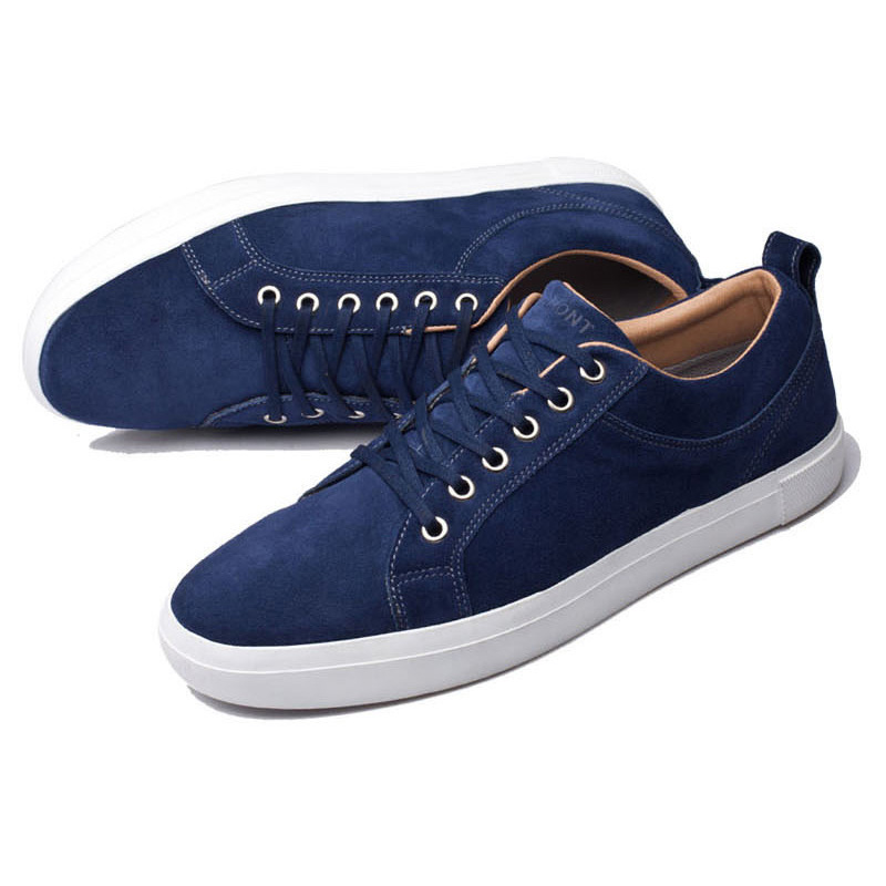 up Véritable Vintage La Navy Main Sneakers Automne Occasionnels Respirant Printemps Blue Marine Dentelle Chaussures Confortable Mocassins À Hommes Cuir 47 Eg En vNw0mn8