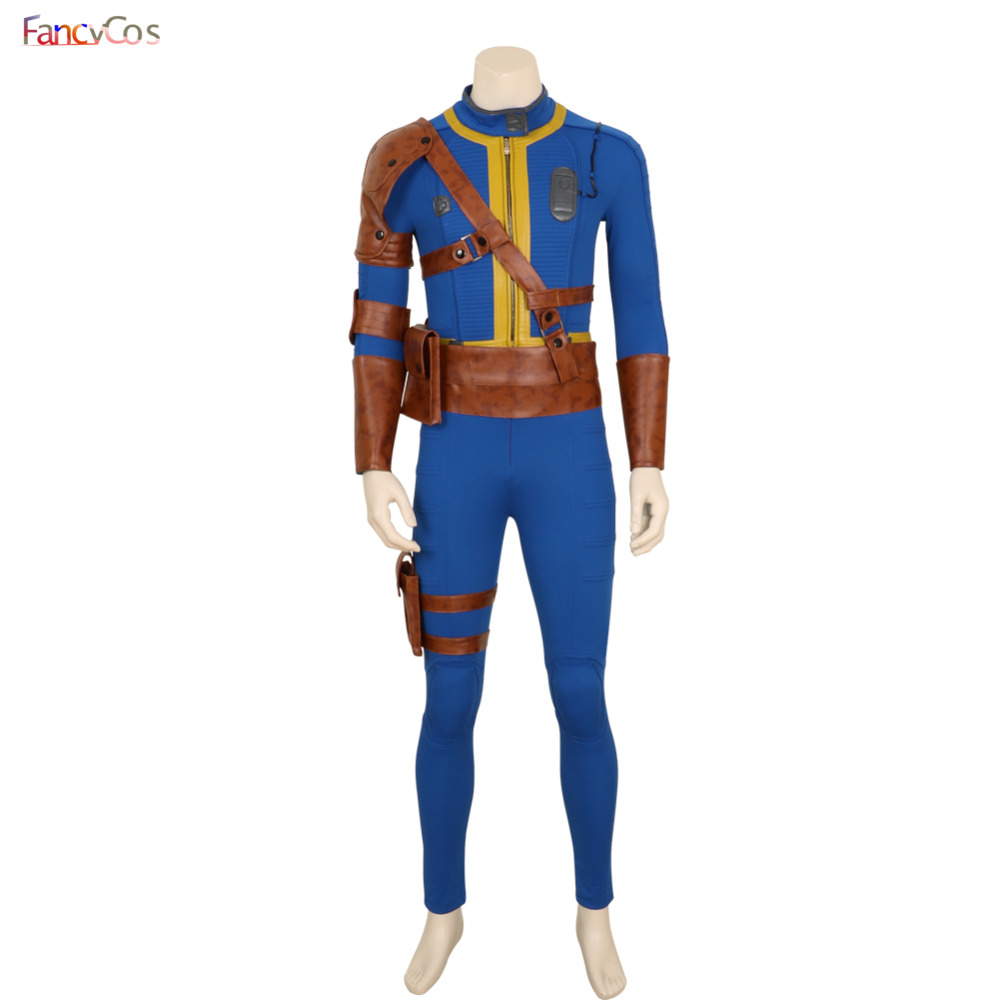 Halloween Men's Fallout 4 Survivor Nate Game Costume Cosplay  Anime Japanese High Quality Deluxe