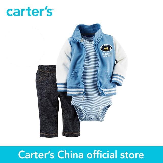 Картера 3 шт. детские дети дети Кардиган Набор 121G760, продавец картера Китай официальный магазин