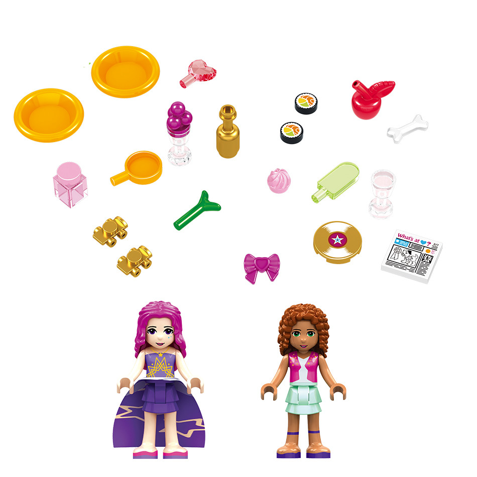 760PCS-Pop-Star-Livi-s-House-Building-Block-Compatible-Legoing-Friend-For-Girls-DIY-figures-Bricks (5)