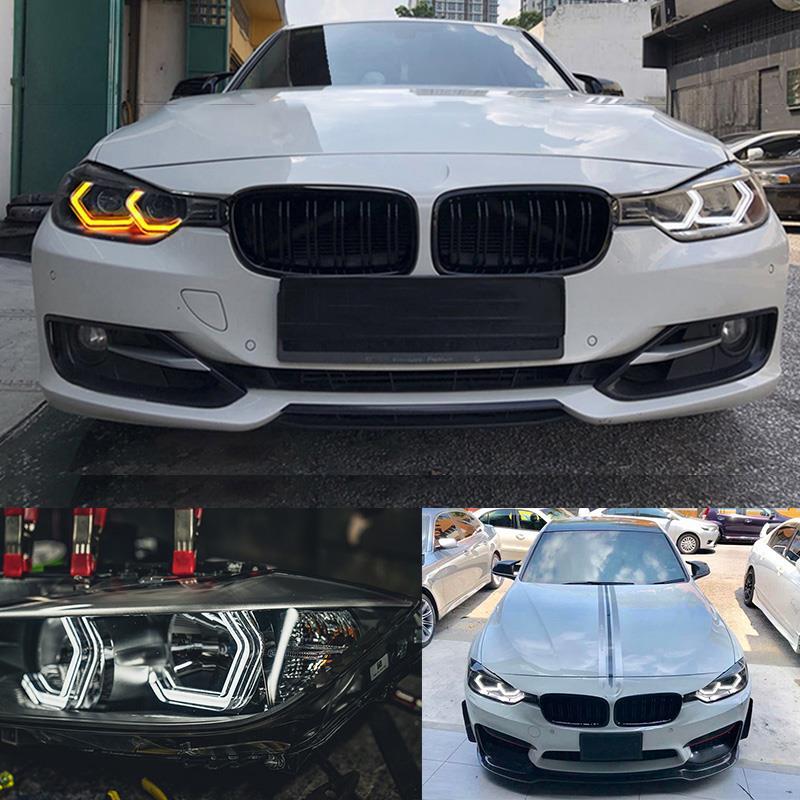 for BMW 2 series M235i 220i 228i 218i M240i 230i White & Amber M4 Iconic Style LED Angel eyes kit halo ring Turn signal lightfor BMW 2 series M235i 220i 228i 218i M240i 230i White & Amber M4 Iconic Style LED Angel eyes kit halo ring Turn signal light