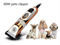 Hot Free Shipping 60W Electrical Cat Dog Hair Trimmer Pet Hair Clipper Remover Cutter Dog Grooming