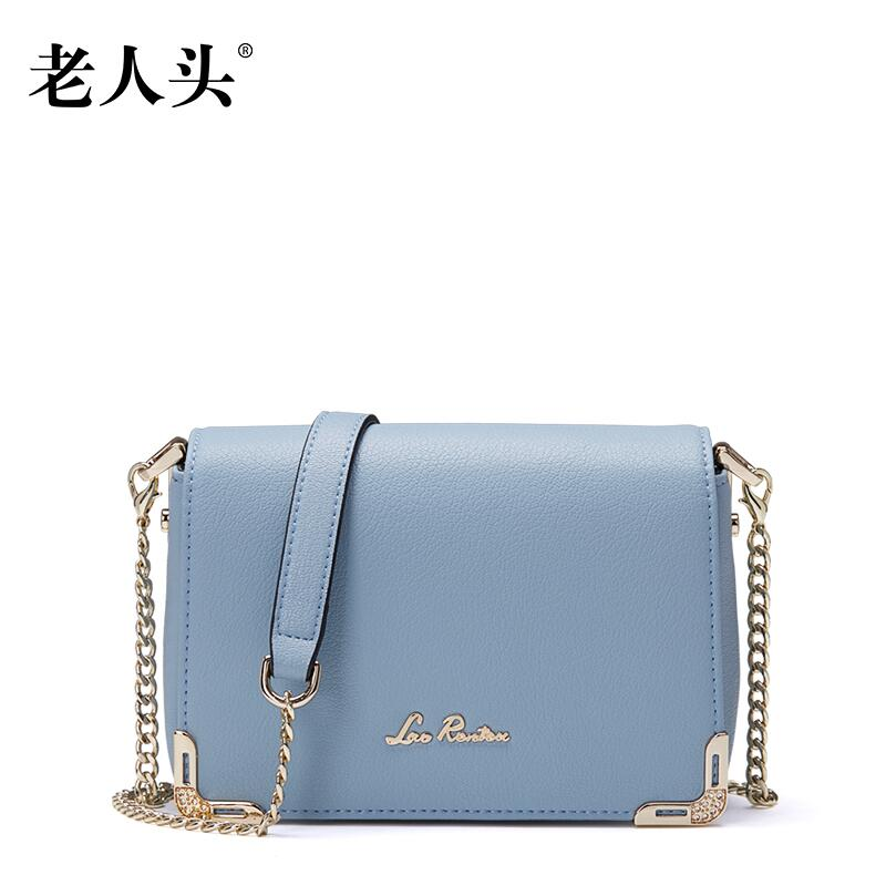 ФОТО 2017 New laorentou women  leather bag designers brands fashion women  leather shoulder messenger bag chain mini small bag