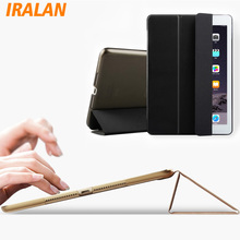 2017 New Case for Apple iPad Air 2 Colour PU+Clear PC Again Extremely Slim Gentle cowl for iPad 6 9.7 inch pill+movie+pen