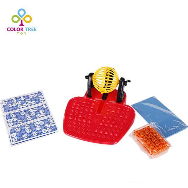 Mini máquina de juego de Bingo 90 números 48 tarjetas máquina de ...
