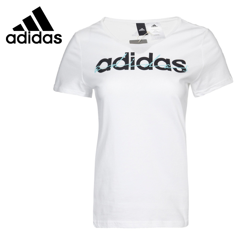 69287963 Original New Arrival 2017 Adidas Special Linear Women's T-shirts short  sleeve Sportswear