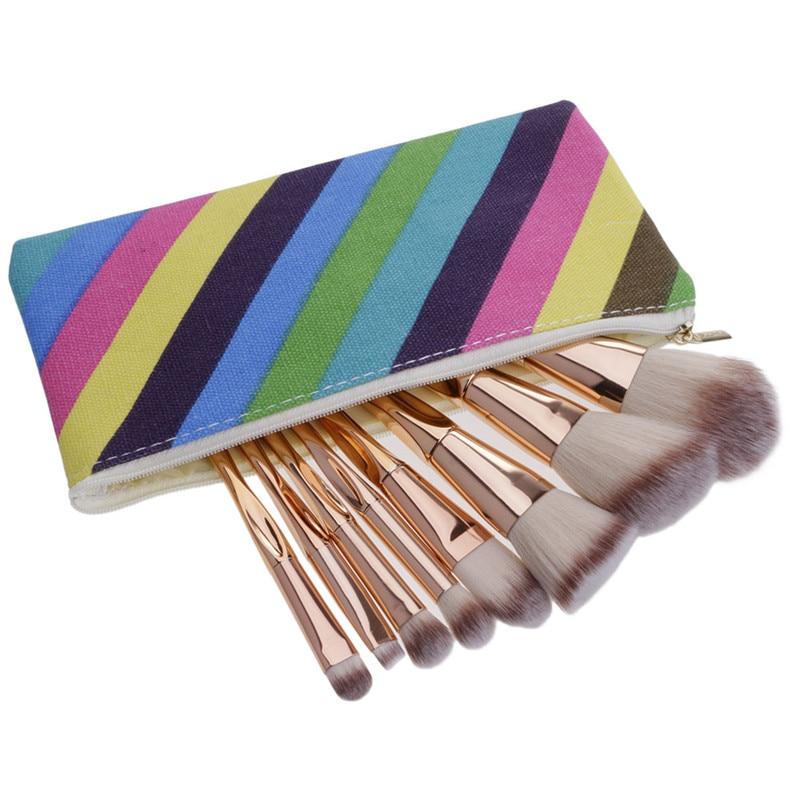 8Pcs/set Cosmetic Makeup BrushBrush Eyeshadow Brush Makeup Heart Shape Brushes Set 3 Colors Hair Foundation Eyeshadow Brushes