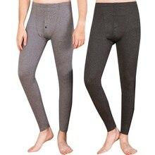 Newly Men's Thermal Underwear Thermal Underwear Pants Leggings Pants Men Winter Warm Long Johns Thermo Underwear Men Clothing