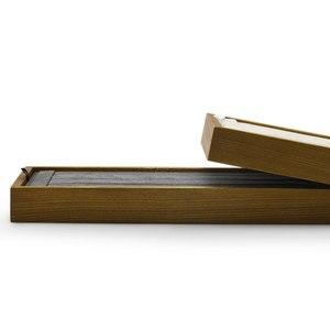 Image 5 - Fanxiジュエリーディスプレイ木製ジュエリートレイネックレスブレスレットリングディスプレイトレイスタンドジュエリーオーガナイザートレイショーケース
