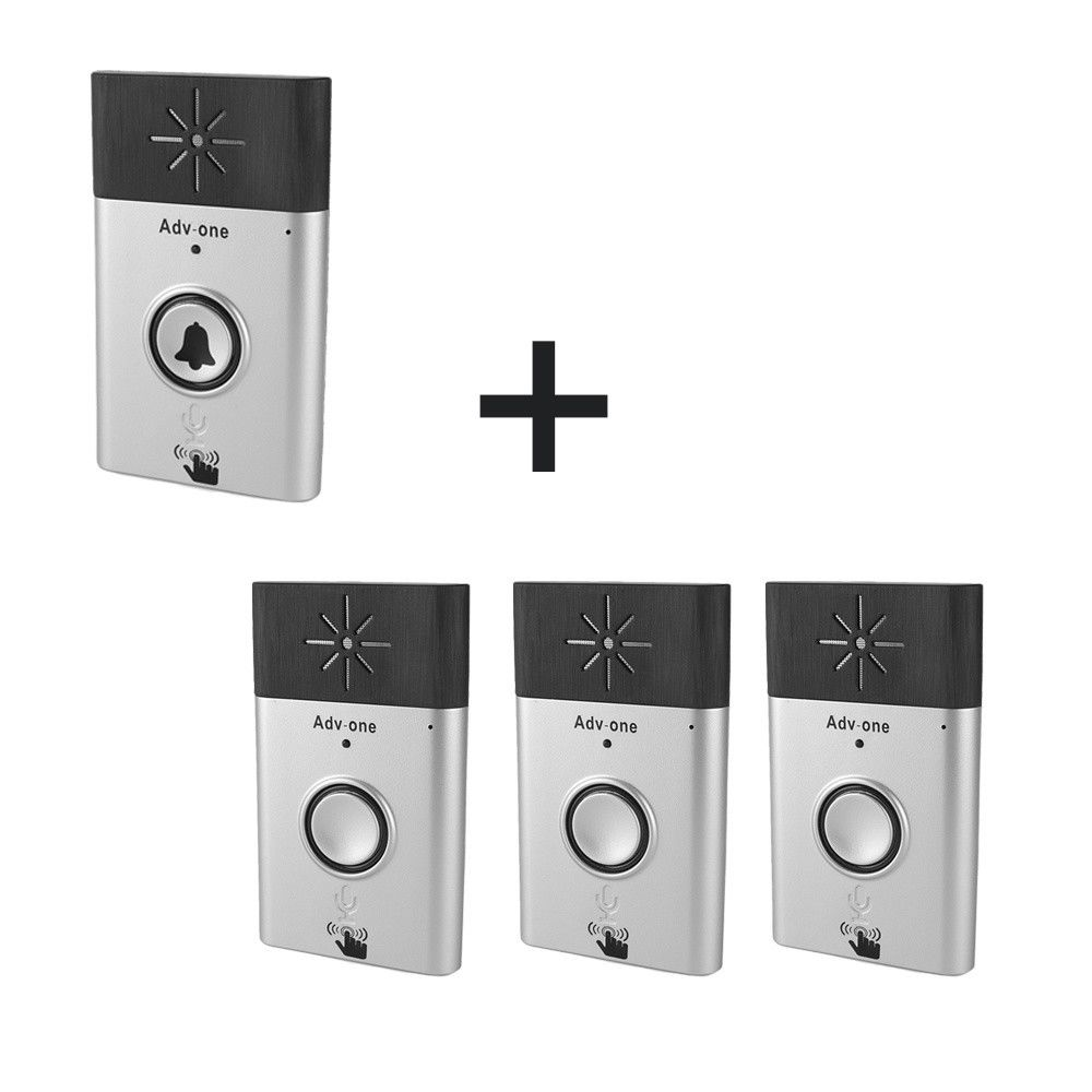 300M Wireless Doorbell Voice Door Phone Chime Intercom Interphone Home Security Doorbell