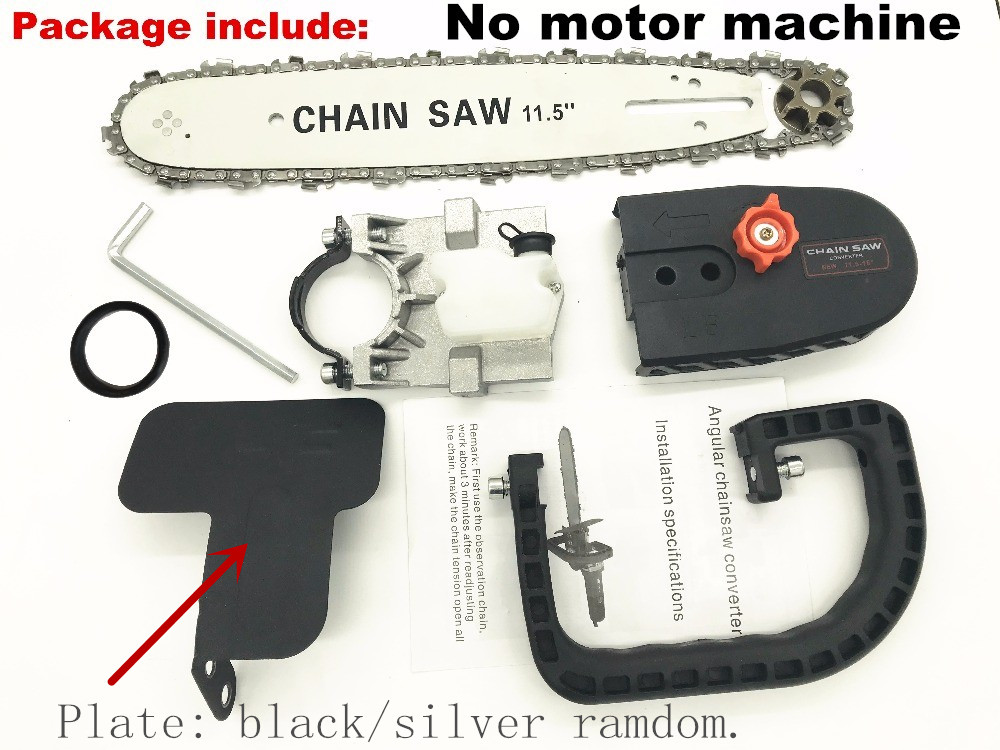 "Image 3 - Updated version 11.5"" Chainsaw Angle Grinder accessories Woodworking Cutting Chain saw reciprocating saw power tool attachment-in Electric Saws from Tools on"