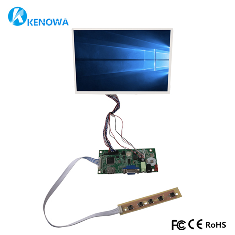 10.1 inch HSD101PWW1 N101ICG-L21 LCD for Raspberry Pi Screen Display With Driver Control Board HDMI VGA10.1 inch HSD101PWW1 N101ICG-L21 LCD for Raspberry Pi Screen Display With Driver Control Board HDMI VGA