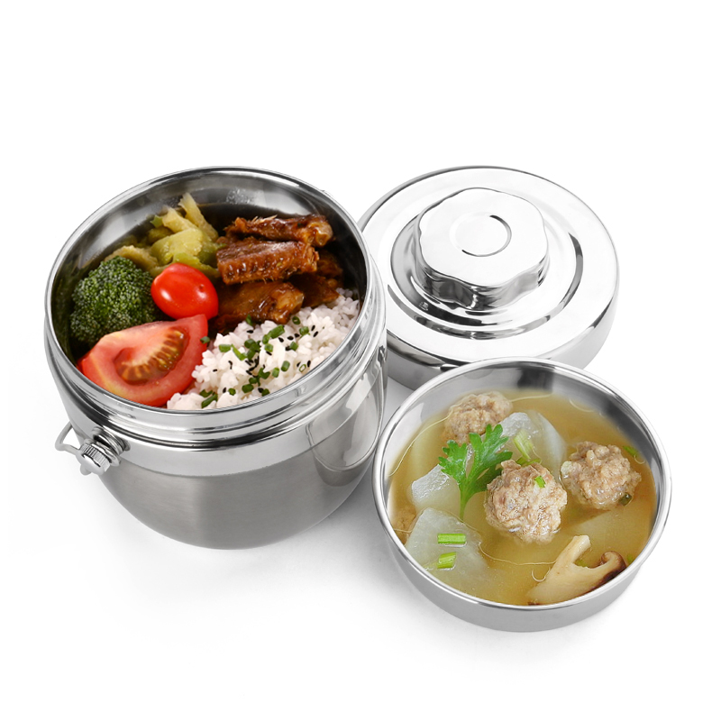 Stainless Steel Lunch Boxs Thermal Japanese Bento Box Food Container Storage Portable Picnic Camping With Bag