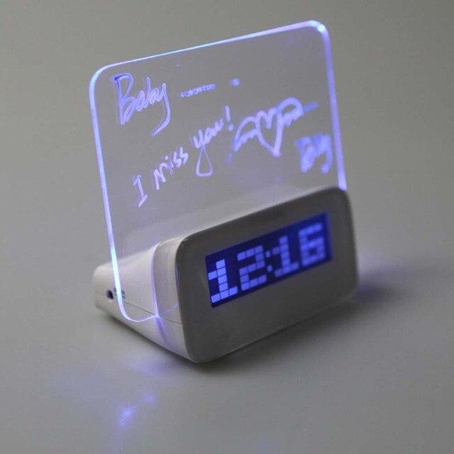 Ogromny 2018 Luminova LED zegar cyfrowy led świetlna tablica świetlna XM73