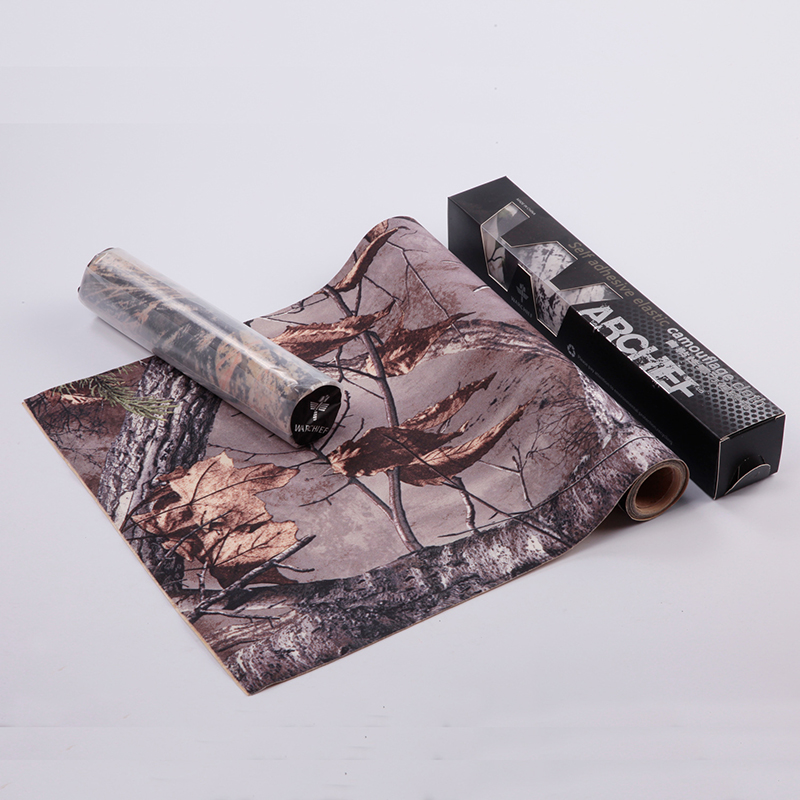 150CMx30CM Outdoor Hunting Bionic Tape Waterproof Self Adhesive Elastic Camo Cloth Terrain Pattern Hunting Gun Accessories