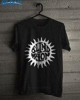 Awesome Tees Gildan Men S Crew Neck Novelty Short Sleeve Tees Summer Sun Logo Rock Band