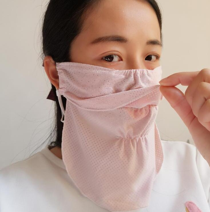 Women's Thin Spring Summer Sunscreen Masks Lady's PM 2.5 Mouth-muffle R668