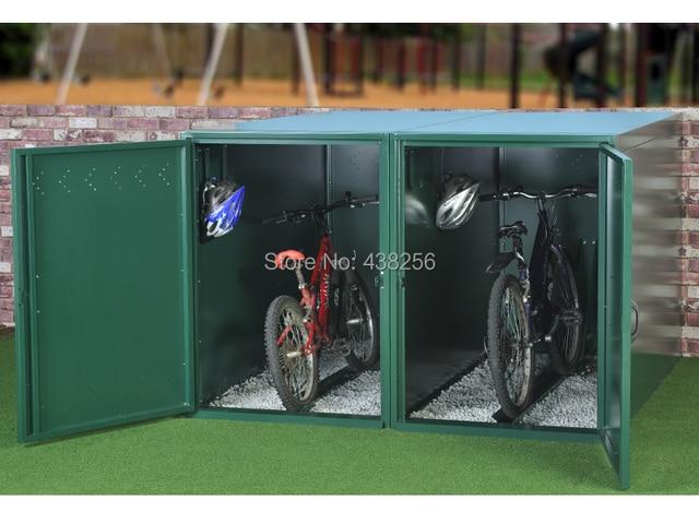Metal Garden Bike Storage Shed