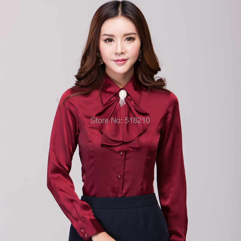 Popular Office Work Wear Clothes Blouse Formal Blouses-Buy Cheap ...