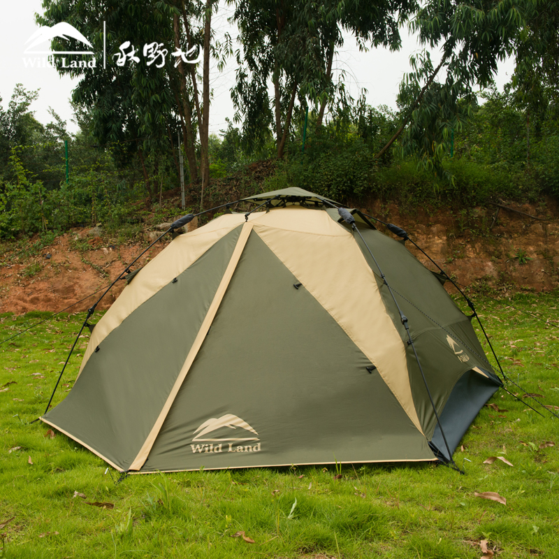 Wildland Cozy Nest 4 Person Large Space C&ing Hiking Tent High Quality Outdoor Waterproof Picnic Climbing Four Season Tent-in Tents from Sports ... & Wildland Cozy Nest 4 Person Large Space Camping Hiking Tent High ...