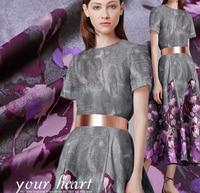 Smoke 2015 autumn unique senior Phalaenopsis Couture jacquard brocade fabric Tingkuo positioning cloth