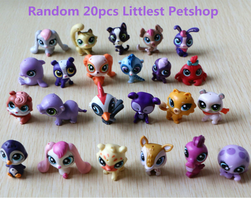 20pcs/1lot Petshop Catoon Animal Minifigures 3cm Toys #007 Action Figure Brinquedo Toy Kids New Year Gift Free Shipping sailor moon 13cm toys action figure brinquedo toy 1939 kids christmas gift free shipping